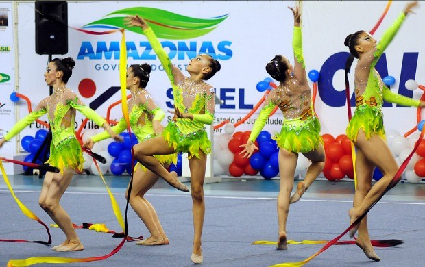 ginástica do amazonas (Foto: Michael Dantas /Sejel)