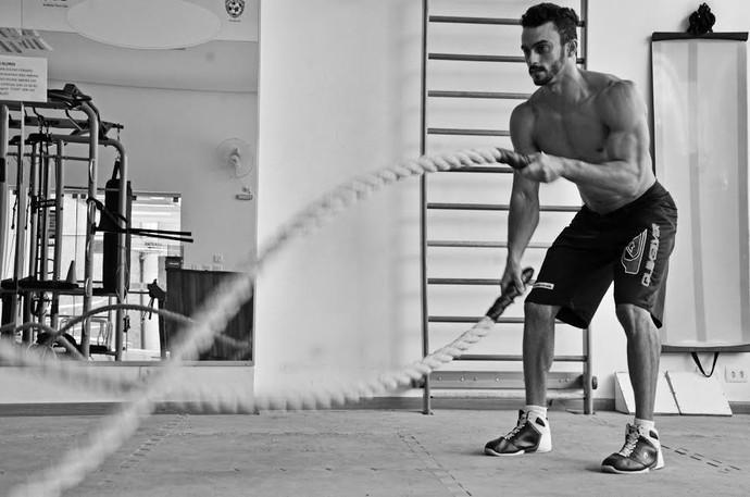Fisiculturista prudentino estreia no Men's Physique no dia 18 deste mês (Foto: Marcel Sachetti / Cedida)