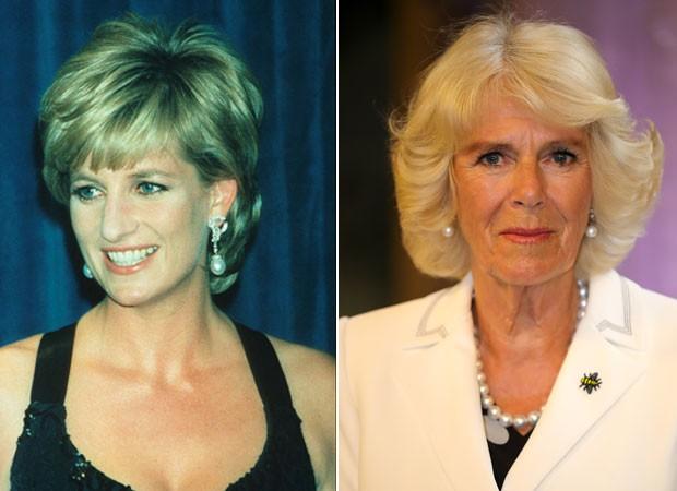 Diana teria ameaçado de morte Camilla (Foto: Getty Images)