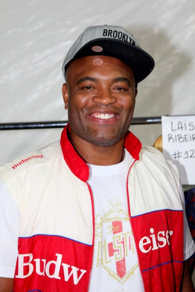 Anderson Silva no Fashion Rio (Foto: Claudio Andrade / Foto Rio News)