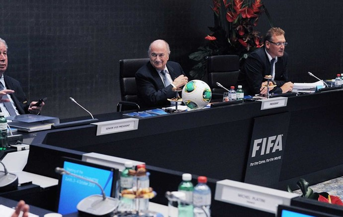 blatter fifa reuniao (Foto: Site Oficial FIFA)