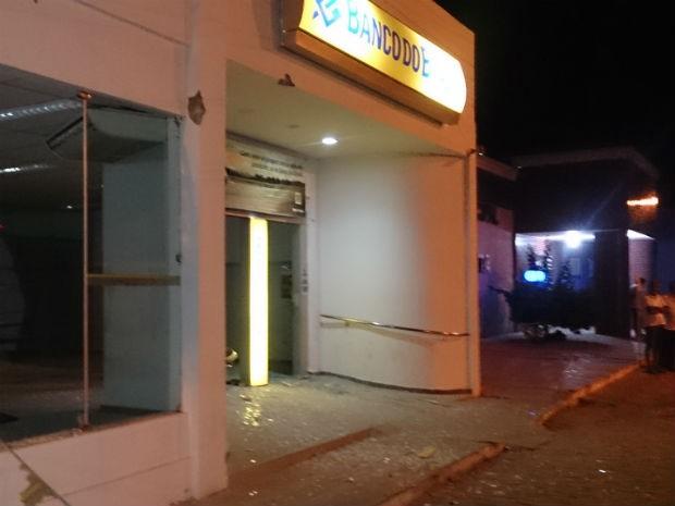 Tentativa de assalto a banco na Bahia deixa dois mortos após troca de tiros  (Foto: Josimar Ferreira/Portal Ponto Novo)