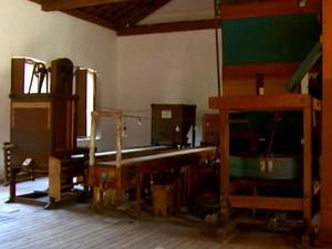 Algumas máquinas estão preservadas há mais de 60 anos (Foto: Eder Ribeiro/EPTV)