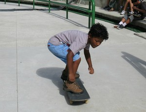 Victor skate mirim Mundial de Skate Vertical (Foto: Ana Carolina Fontes)