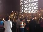 Romeiros de MG se emocionam no Santuário de Aparecida, em SP