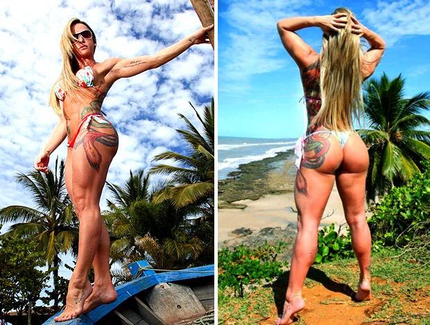 Geisa Vitorino ring girl faz ensaio sensual (Foto: Nildo Carvalho)