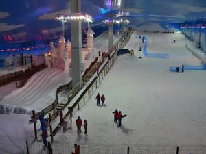 Snowland em Gramado é um complexo com neve de verdade (Foto: Carla Wendt/Prefeitura de Gramado)