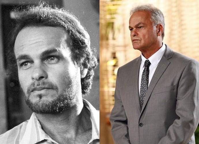 Kadu Moliterno deu vida a Inácio Avelar, professor visado pela repressão, e que teve um envolvimento com Natália (Foto: CEDOC / TV Globo / Isabella Pinheiro / Gshow)