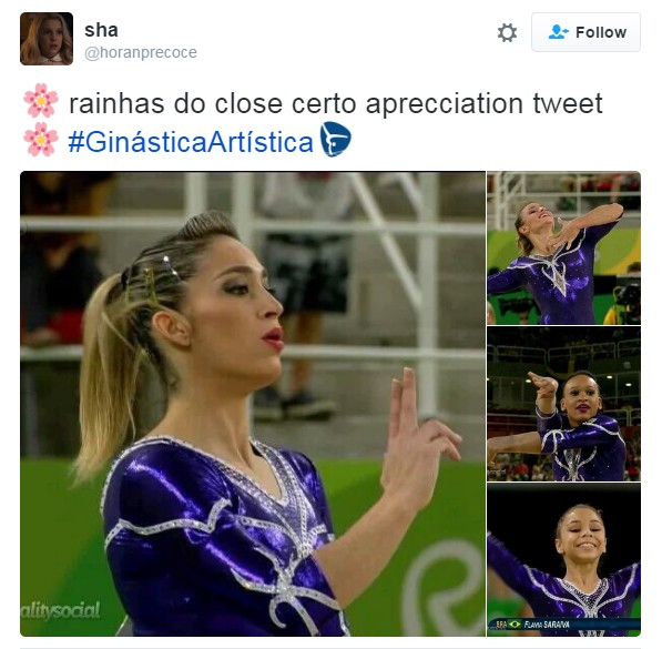 meme primeiro fim se semana olimpíada 3 (Foto: Reprodução/Twitter)