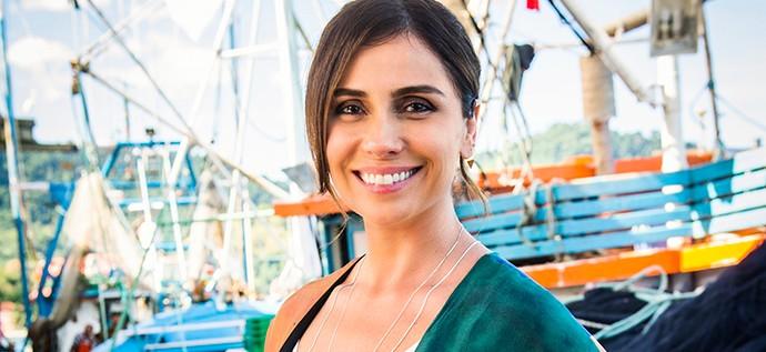 Giovanna Antonelli mostra pela primeira vez o figurino de Alice, sua personagem em 'Sol Nascente'  (Foto: TV Globo / João Miguel Júnior)