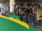 Servidores do Judiciário defendem juiz Sérgio Moro em protestos no RS