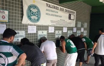 Atletiba: 4.030 ingressos para a torcida do Coritiba; venda inicia nesta quarta