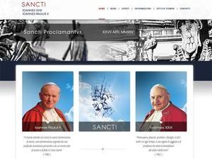 Site lançado pelo Vaticano pubicará a cobertura da canonização dos dois papas, no dia 27 de abril (Foto: Reprodução)