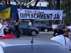 Grupo protesta contra governos Dilma e Pimentel em Belo Horizonte