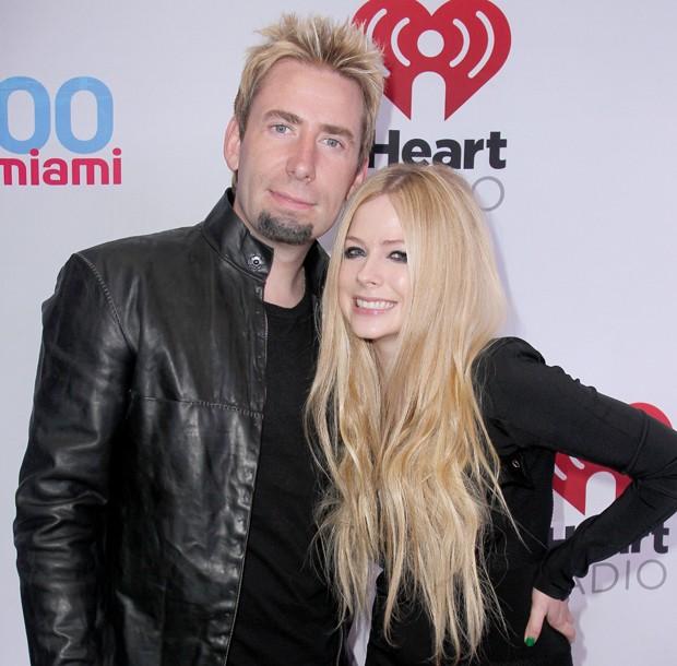 Chad Kroeger desabafa sobre a doença da mulher, a cantora Avril Lavigne