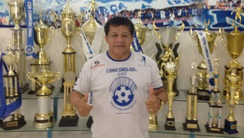 Ídolo do CSA, Jacozinho avisa que  time está pronto para ser campeão (Jota Rufino/GloboEsporte.com)