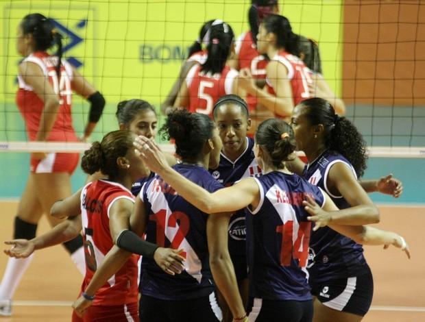 Peru vôlei Pré-Olímpico (Foto: Alexandre Arruda/CBV)