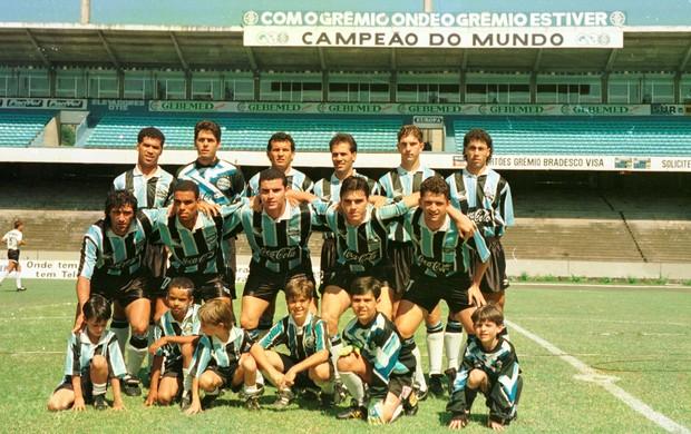 grêmio santa cruz 1994 gauchão adeus, olímpico (Foto: Luis Fernando/Agência RBS)