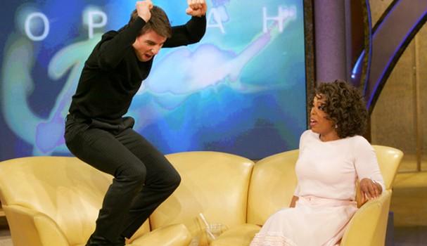 Tom Cruise e Oprah (Foto: Reprodução)