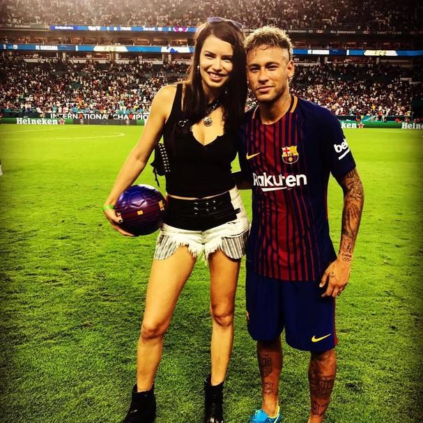 Adriana lima e Neymar Jr (Foto: Instagram/Reprodução)