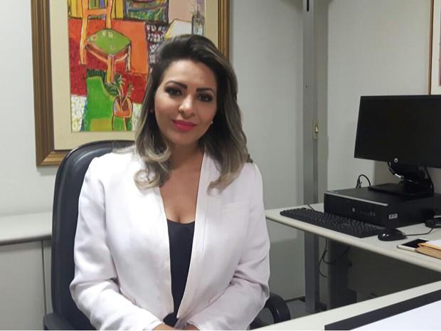 A deputada Jozi Araújo (PTN), nova procuradora paralmentar da Câmara (Foto: Fernanda Calgaro/G1)