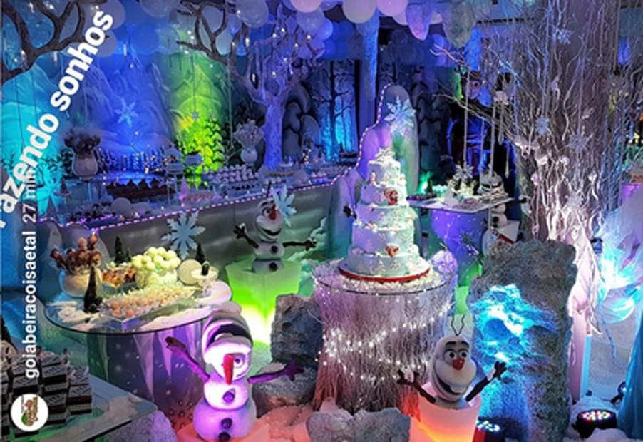 Decoração da festa de Titi (Foto: Reprodução)