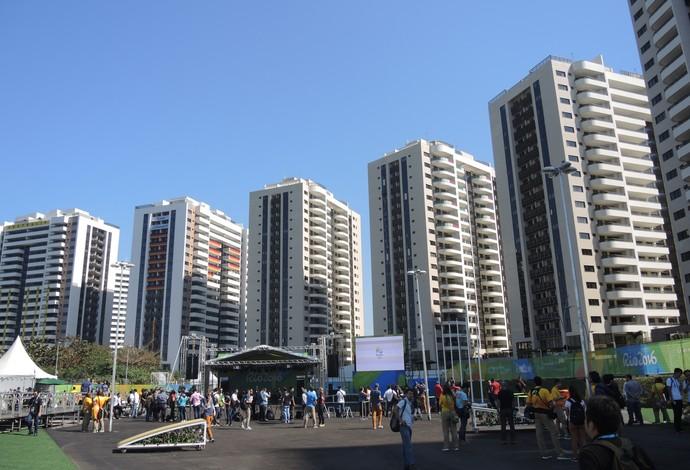 Prédios da Vila Olímpica (Foto: David Abramvezt)