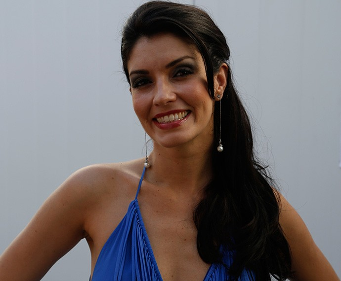 Joyce Cândido na Cidade do Rock (Foto: Guilherme Jacobs / Gshow)