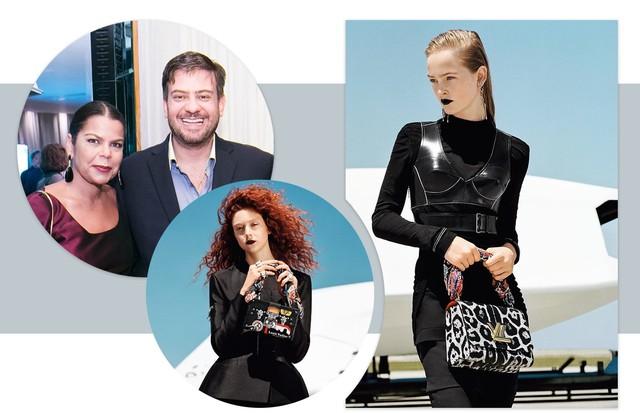 Os bastidores do ready to wear da Louis Vuitton #VillageMall (Foto: Reprodução)