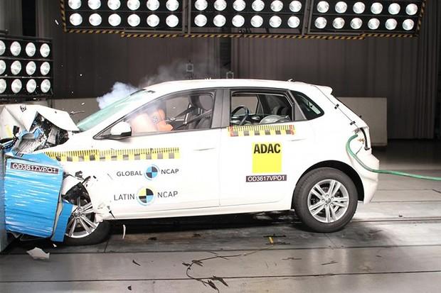 Teste de Colisão Volkswagen Polo (Foto: Divulgação)
