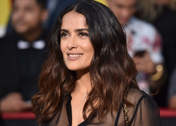 WESTWOOD, CA - AUGUST 09:  Actress Salma Hayek attends the premiere of Sony's 'Sausage Party' at Regency Village Theatre on August 9, 2016 in Westwood, California.  (Photo by Alberto E. Rodriguez/Getty Images) (Foto: Getty Images)