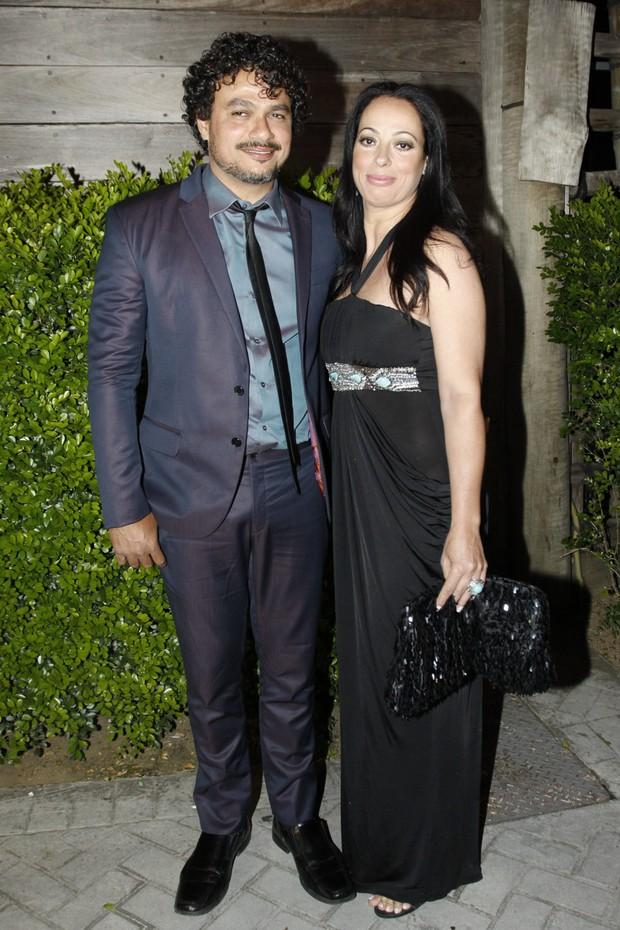Leo Maia e a mulher (Foto: Celso Tavares/EGO)
