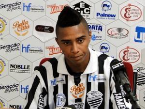 Osman, meia do Comercial (Foto: Gabriel Lopes / Comercial FC)