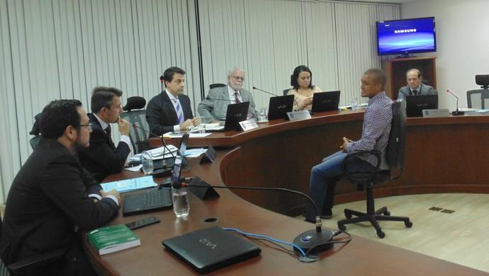 Eduardo Costa Avaí (Foto: Daniela Lameira / Site STJD)