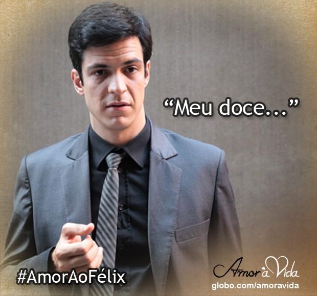Meu doce (Foto: Amor à Vida / TV Globo)