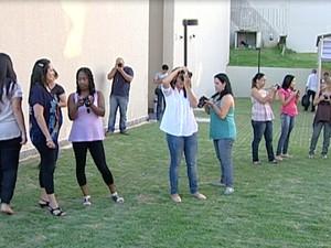 Curso fotografia senac uberaba (Foto: Reprodução/ TV Integração)
