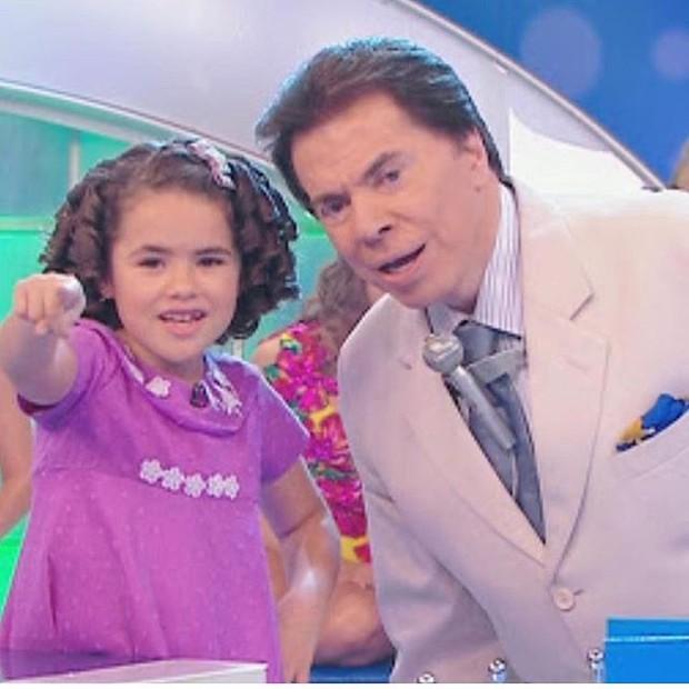 Maisa Silva e Silvio Santos  (Foto: Reprodução/Instagram)