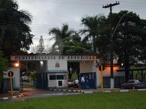 Penitenciária de Araraquara (Foto: Manoela Marques/G1)