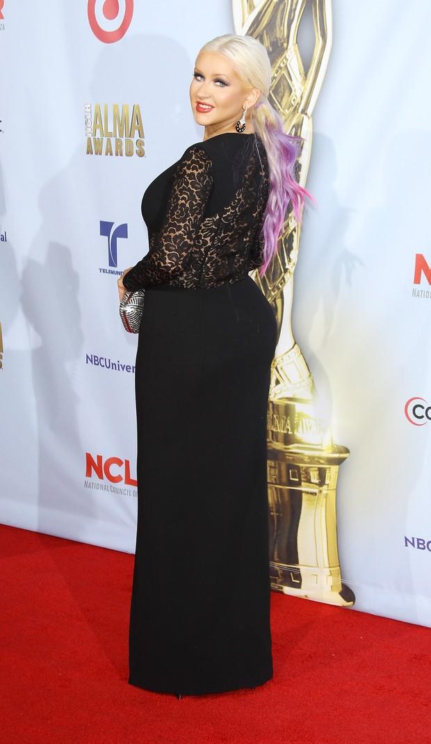 Christina Aguilera em evento na Califórnia (Foto: Getty Images)
