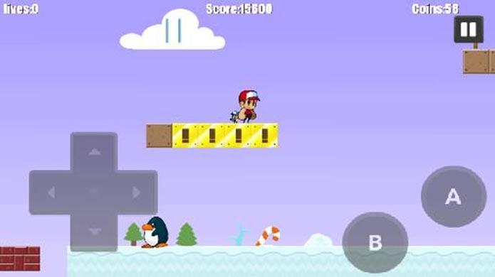 Super Oscar emula Mario de forma simples e eficiente (Foto: Reprodução)