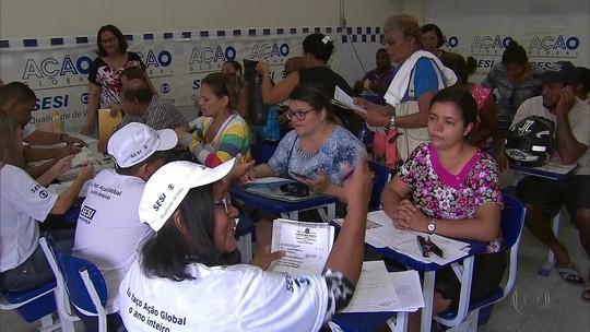 Ação Global promove um sábado de cidadania em Goiana, na Mata Norte de Pernambuco
