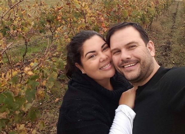 Fabiana Karla e o marido, Bruno Muniz (Foto: Reprodução/Instagram)