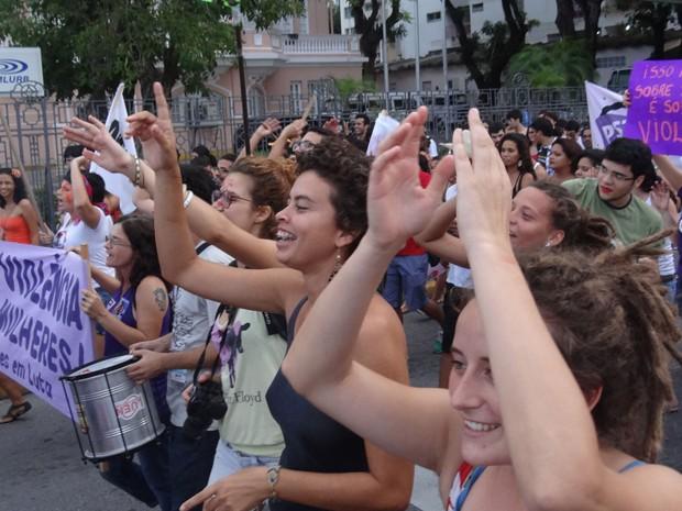 Marcha Vadias Recife (Foto: Priscila Miranda / G1 PE)