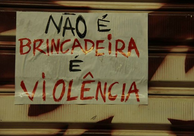 Denúncias recentes expuseram o problema dos abusos ocorridos em trotes e festas nas universidades (Foto: Frente Feminista USP São Carlos)