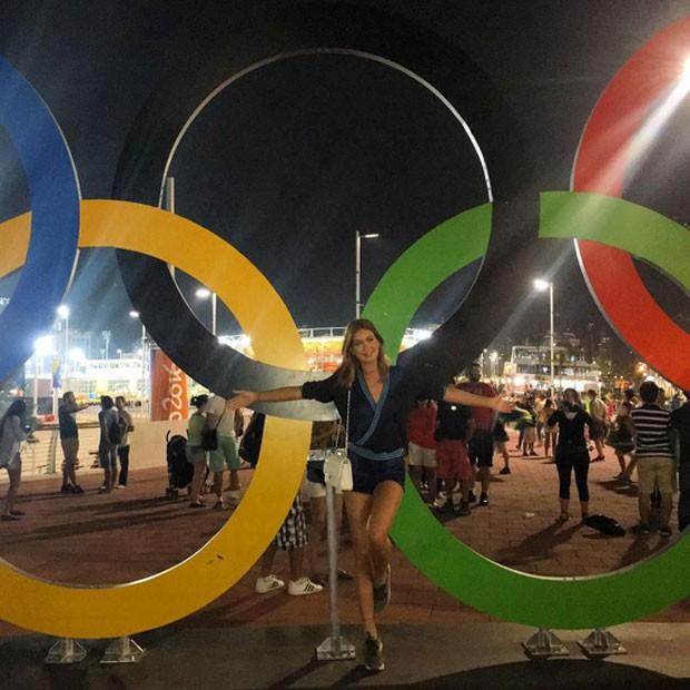 Marina Ruy Barbosa no Parque Olímpico, na Zona Oeste do Rio (Foto: Instagram/ Reprodução)