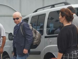 Mauro Nadvorny, também testemunha de Calú (Foto: Juirana Nobres/ G1)