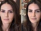 Lisandra Souto dá dicas para sobrancelhas perfeitas; veja vídeo