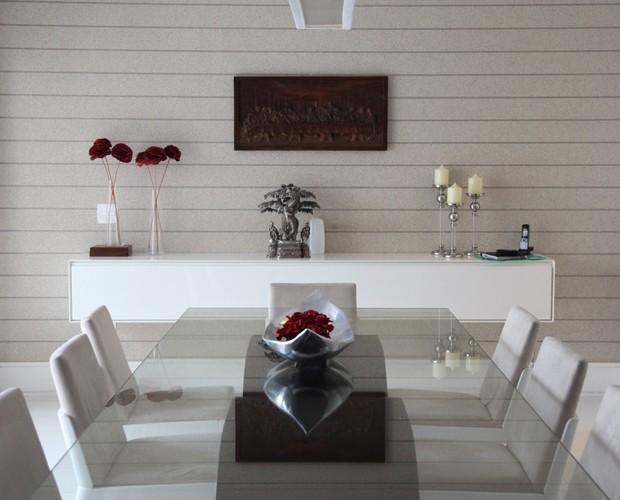 Sala da casa do Diogo Nogueira (Foto: Carolina Caminha / TV Globo)