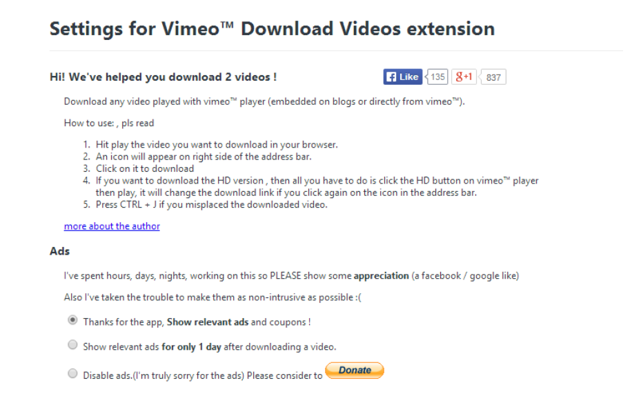 how to download vmeo videos