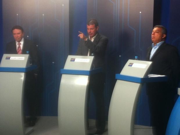 Debate com candidatos à Prefeitura de Cabo Frio - 4 de outubro de 2012 - foto 3 (Foto: Heitor Moreira)